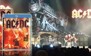 Edición Coleccionista AC/DC Live At River Plate en DVD + camiseta y Blu-Ray