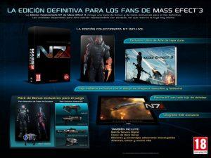 Mass Effect 3 Edicion Coleccionista