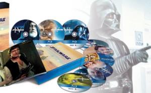 Star Wars Saga completa en Blu-ray