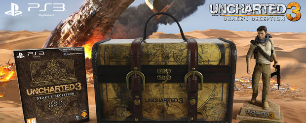 Anunciada la Explorer Edition de Uncharted 3