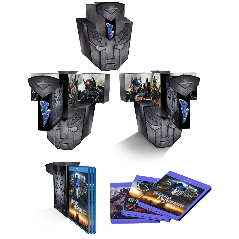 Transformers Trilogia Pack Autobot Blu-ray