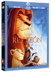 El Rey Leon Edición Diamante Blu-ray