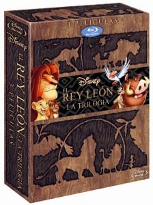El Rey León Trilogía Blu-ray Pack