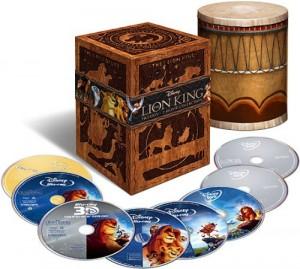 El Rey León Trilogía Box Set Estados Unidos