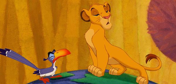 El rey leon zazu cantando latino dating