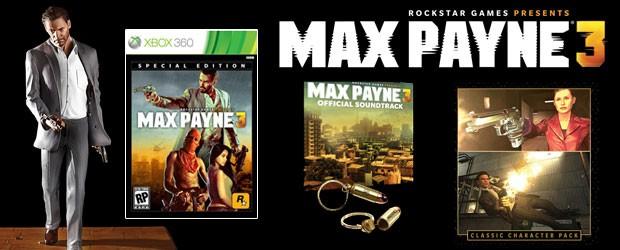 Unboxing max payne 3 edici n especial for Edicion 3d online