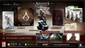 edicion coleccionista assassins creed III freedom edition 300x169 Ubisoft presenta las ediciones coleccionista de Assassins Creed III