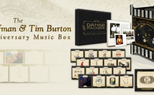 Danny Elfman & Tim Burton Music Box 25 aniversario Edicin Limitada