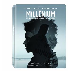 Millenium Blu-ray Steelbook Amazon.fr