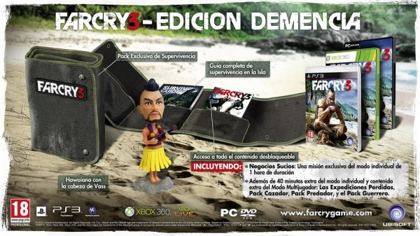 far cry 3 edicion demencia 600x337 Far Cry 3 Edicin Demencia