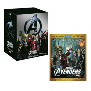 Edicion Coleccionista Box Set y Pack Combo The Avengers