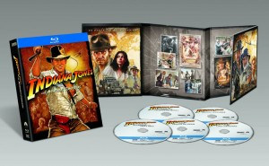 Material extra de la Colección de Aventuras completas de Indiana Jones