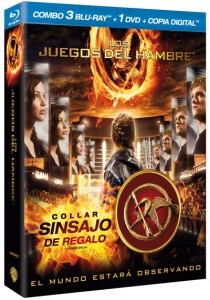 Los Juegos del Hambre Edición Especial Collar Sinsajo Blu-ray