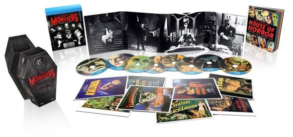 Edición Coleccionista de los monstruos de Universal Studios