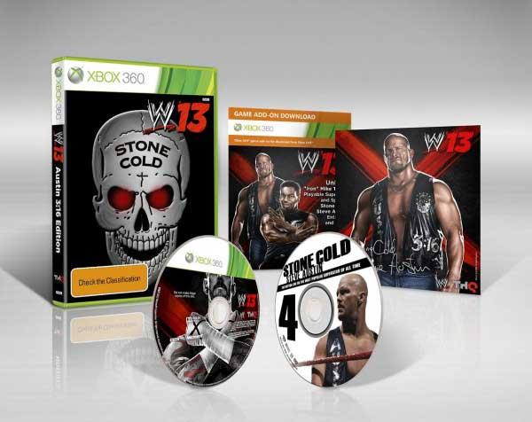 Edición Coleccionista de WWE 13 al descubierto