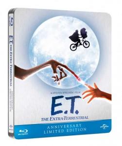E.T. El Extraterrestre Steelbook Blu-ray