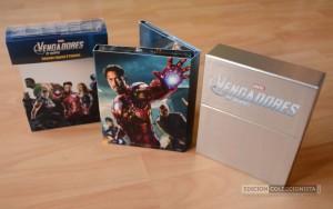Pack Colección Especial Marvel Los Vengadores