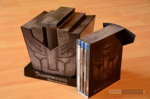 Transformers Trilogia Blu-ray Edición Cabeza Autobot