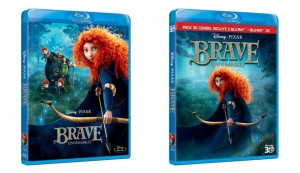 Ediciones sencilla y combo Blu-ray Brave