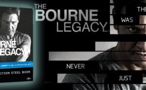 El Legado de Bourne Edición Metálica Blu-ray