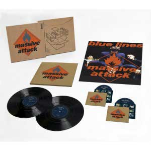 Massive Attack Blue Lines 2012 box set deluxe
