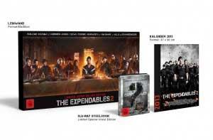 Los Mercenarios 2 Edición Deluxe Limitada