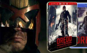 Dredd Ediciones Blu-ray 3D y metlica
