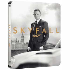 Skyfall Steelbook Blu-ray Combo