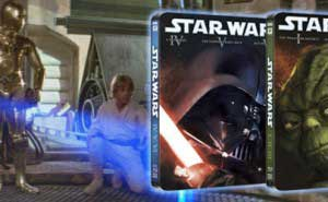 Star Wars Steelbook Triloga Blu-ray