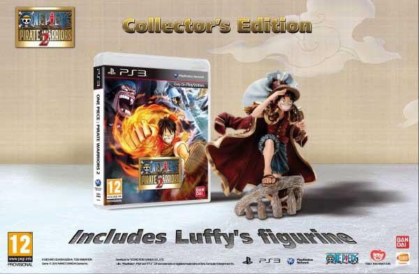 One Piece Pirate Warriors 2 Edicion Coleccionista