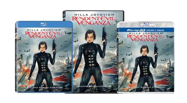 Resident Evil: Venganza Ediciones Españolas