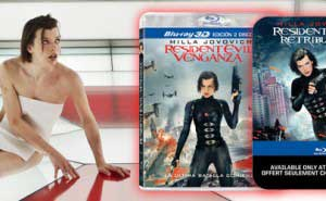 Resident Evil Venganza Edicion 3D y Metálica
