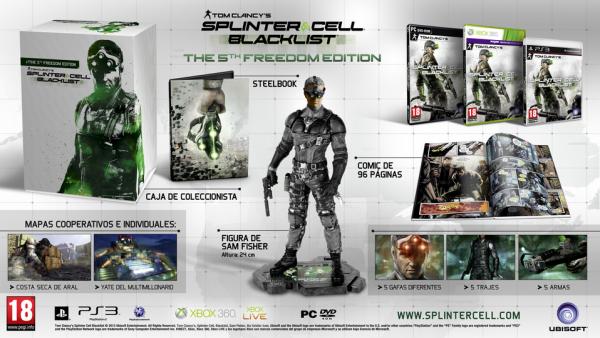 Splinter Cell: Blacklist 5th Freedom Edition