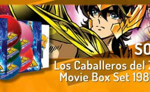 Sorteo Los Caballeros del Zodiaco: Movie Box Set 1987-2004