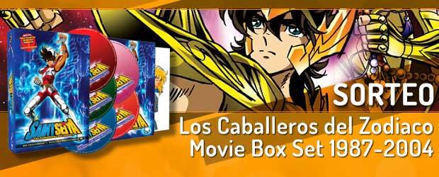 Sorteo Los Caballeros del Zodiaco: Movie Box Set 1987-2004