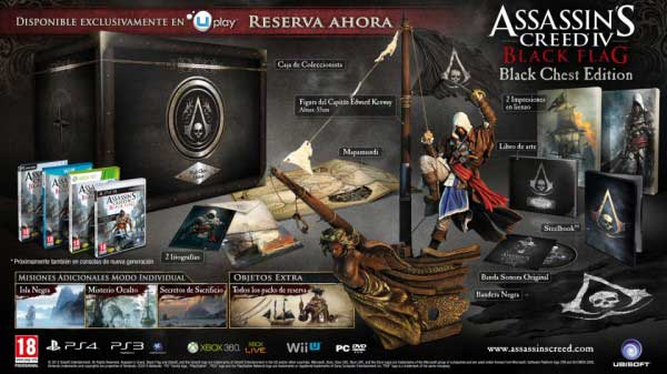 Assassin's Creed IV: Black Flag. Black Chest Edition