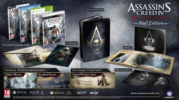 Assassin's Creed IV: Black Flag. Skull Edition.