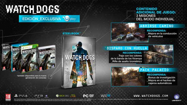Watch Dogs UPlay Exclusive Edition