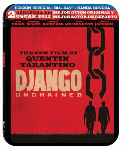 Django Desencadenado Steelbook