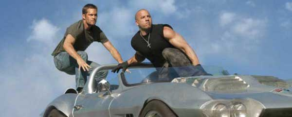 Vin Diesel y Paul Walker en Fast and Furious 5