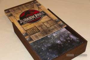 Jurassic Park Trilogía Edición Especial Caja de Madera