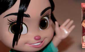 Vanellope Von Schweetz 30 centmetros con sonido
