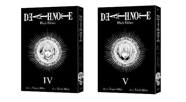 Death Note Black Edition Vols. 4 y 5