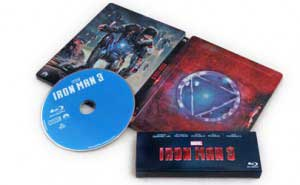 Iron Man 3 Steelbook Blu-ray