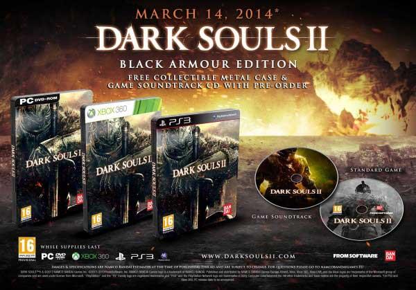 Dark Souls II Black Armour Edition
