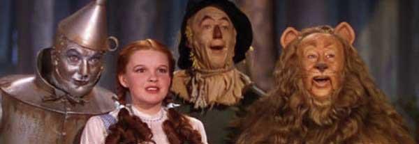 El Mago de Oz - Dorothy y sus compañeros de viaje