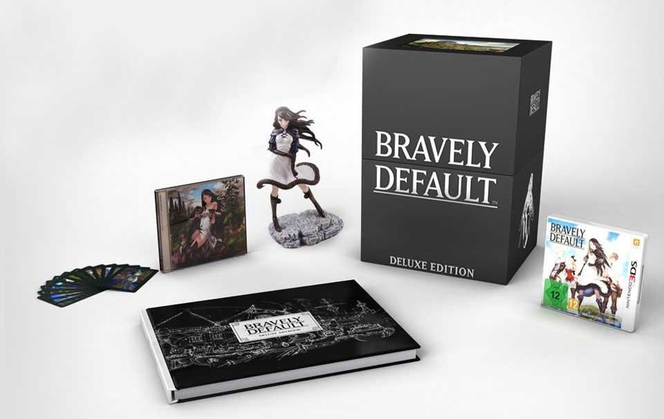 Bravely Default Edición Coleccionista