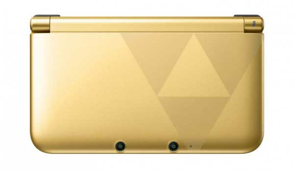 Nintendo 3DS XL Zelda Link Between Worlds Edición Especial