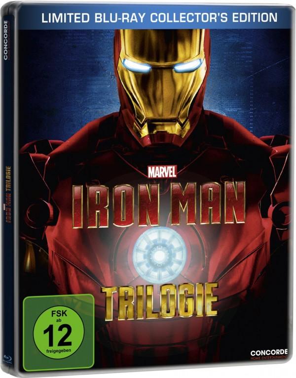Steelbook Trilogía Iron Man