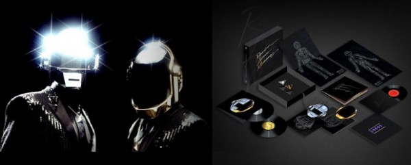 Edición especial Daft Punk Random Access Memories Box Set